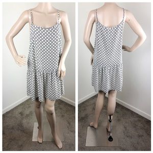 Sans Souci black and white printed cami dress